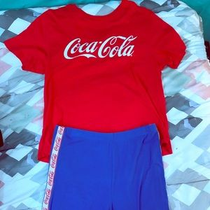 CocaCola outfit